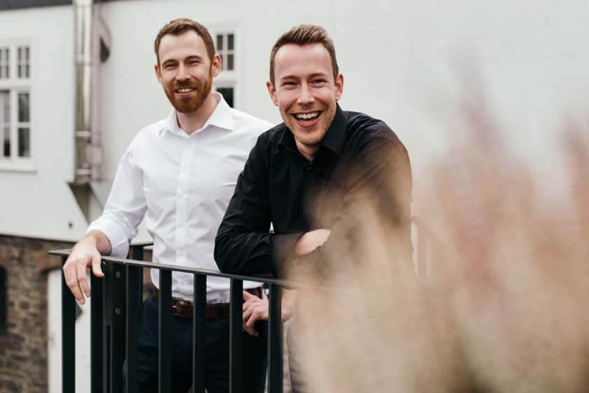 Portraitfoto von Benjamin und Leander Diedrich